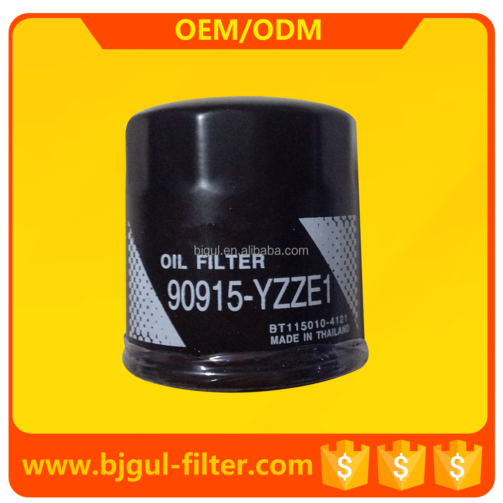 auto parts Toyota COROLLA oil filter 90915-YZZE1