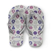 Eco-friendly 2013 latest design cheap fashion fancy promotional comfortable childrens shoes flip flop
