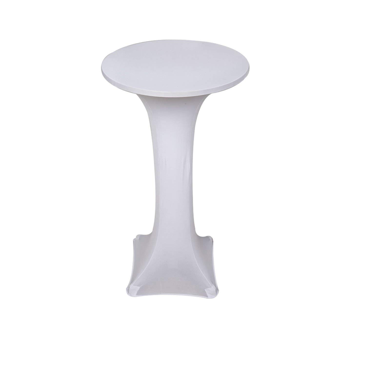 Get Quotations · Awillhome Highboy Cocktail Fitted Spandex stretch Table Cover Tablecloth Bistro Table CoverPoseur Tablecloth  sc 1 st  Shopping Guide - Alibaba & Cheap Snow White Table Cover find Snow White Table Cover deals on ...