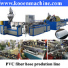 PVC fiber reinforced hose extrudering machinery for sale