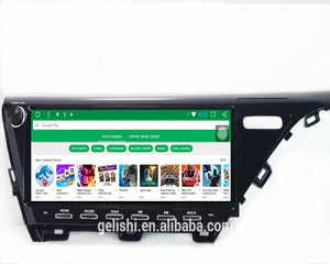 2GB RAM 32GB ROM 12.3inch Android touch screen car radio video dvd multimedia player for toyota camry 2018 gps navigation