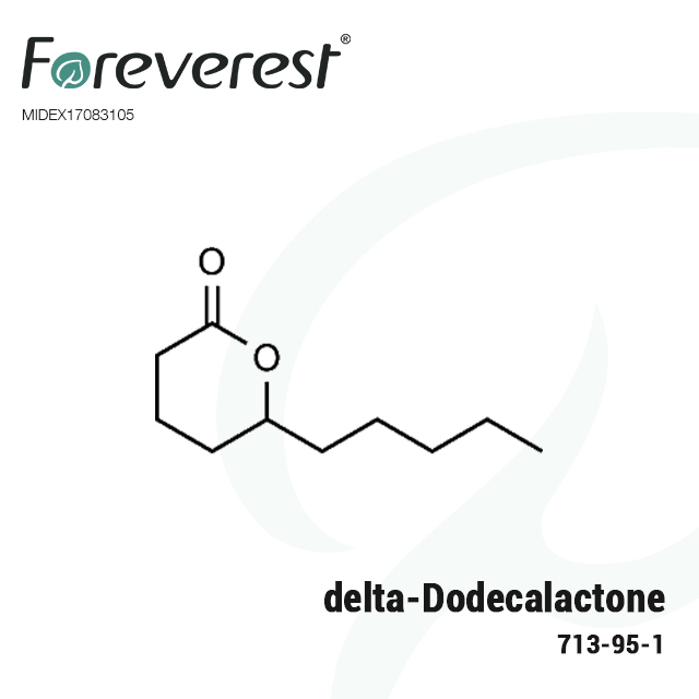 713-95-1 delta Dodecalactone peach and vanilla style flavor chemicals for food processing