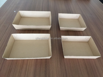 Custom paper services food trays