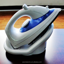 Electric portable station cordless iron vertical steam iron