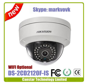 2MP Mini size Hikvision 2MP Dome camera DS-2CD2120F-IS