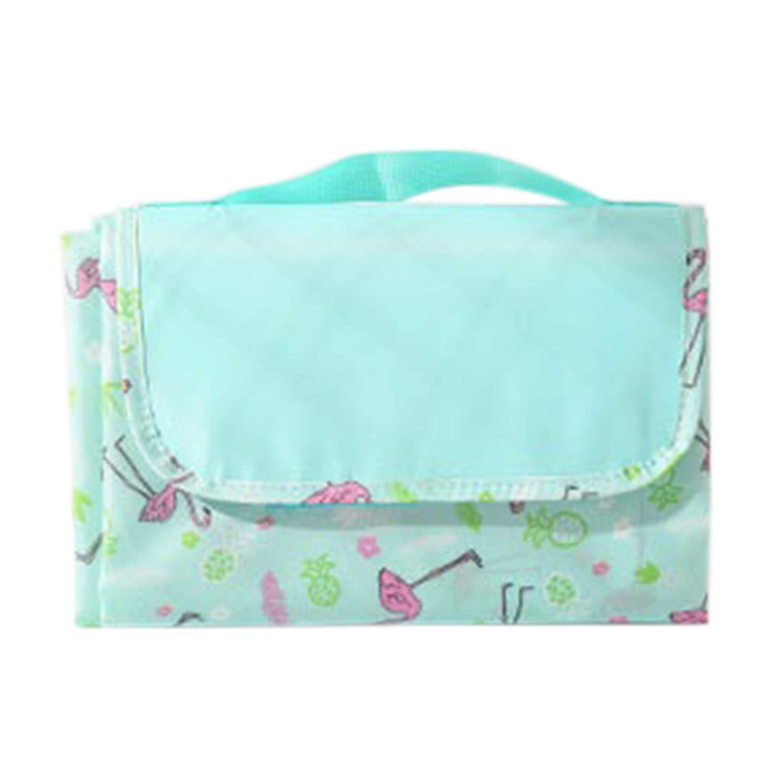 Myrna Austen Outdoor Folding Camping Mat Widen Beach Picnic Mat Blanket Sleeping Camping Pad