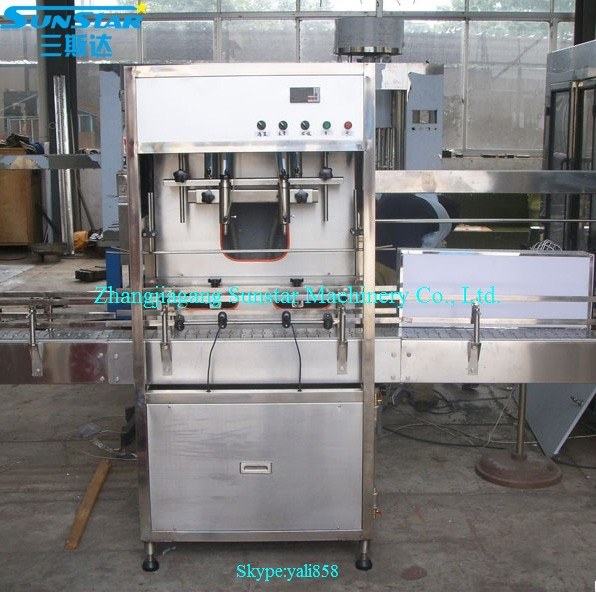 Automatic or manual linear type manual oil filler for olive cooking sunflower oil in bottle barrel or jar can
