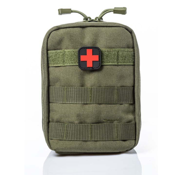 Outdoor Camping Travel Utility Tactical Molle EMT IFAK Medical First Aid Pouch Empty First Aid Bag