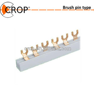 Brass or Copper Insert Brush Terminal Block/Hot Sell Kinds of Electrical Connector Terminal Block