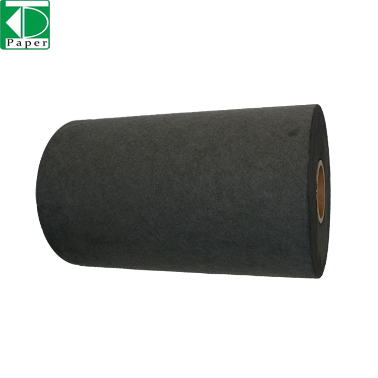 Standard low price Nonwoven Activated Carbon Air Filter Paper in Roll