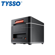TYSSO Black Dust-Proof QR Code Thermal Receipt Kitchen POS Printer