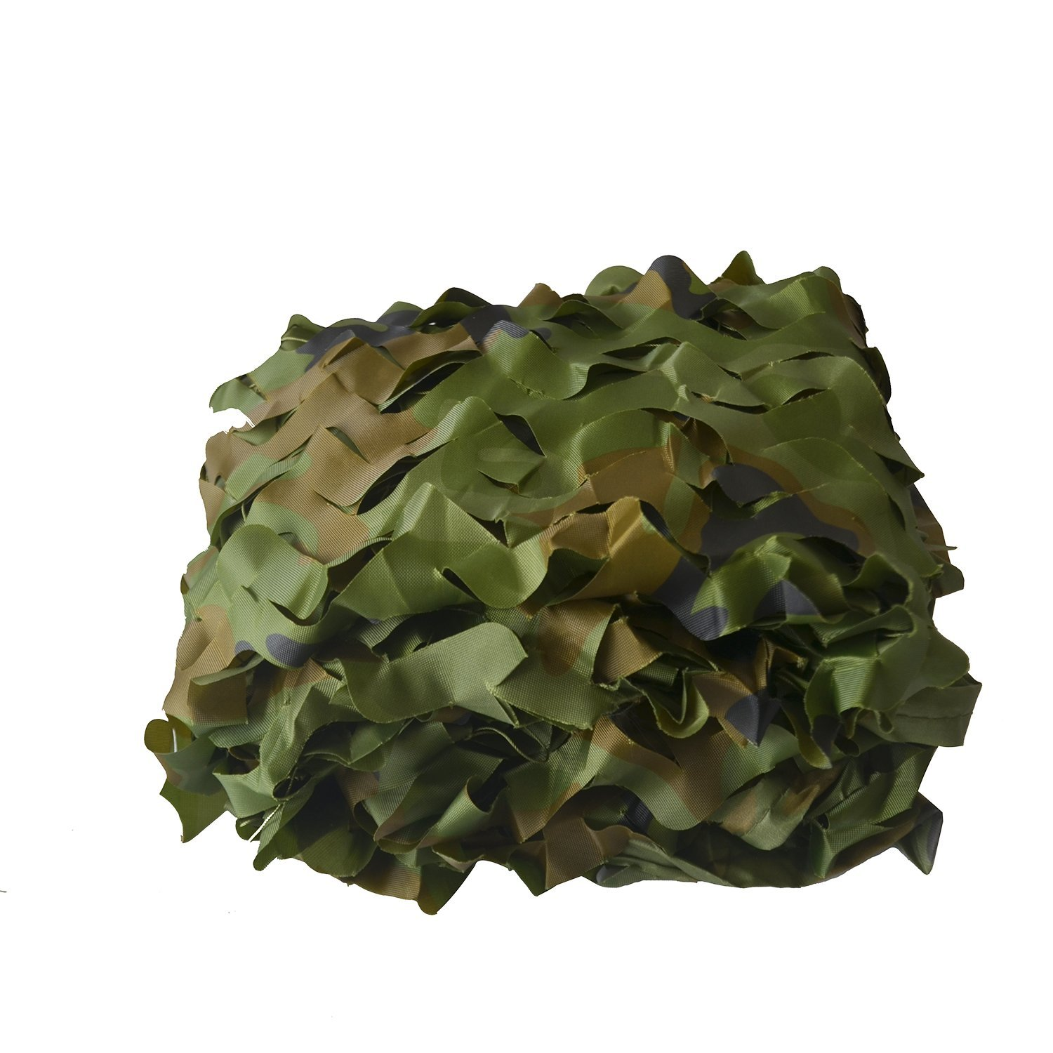 Mitef Woodland Camo Netting Blinds Camouflage Net For Camping Hunting Shooting Sunscreen Net 3.3x6.7ft 4.9x13.3ft 6.8x10ft 10x10ft 10x13.3ft 13.3x16.6ft 16.6x20ft 20x20ft etc,1pack