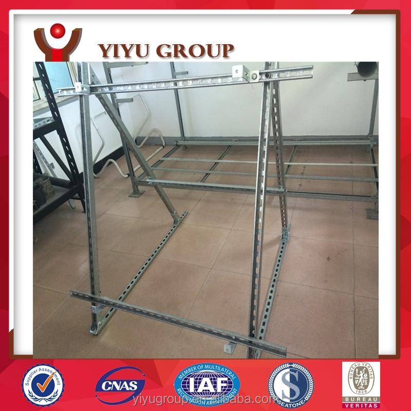 Galvanized Solar Pannel Support Frames