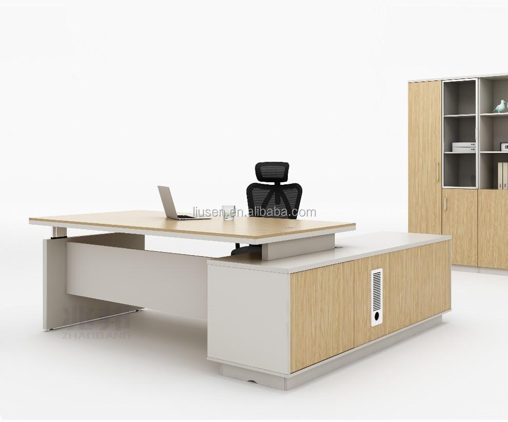 Usine prix de gros de luxe standard bureau dimensions bureau en