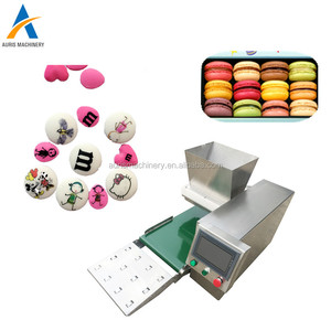 New small table type french cookie machine macaron making maker machine for sale