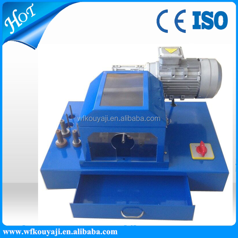 Electric Hydraulic Hose Cutting And Skiving Machine