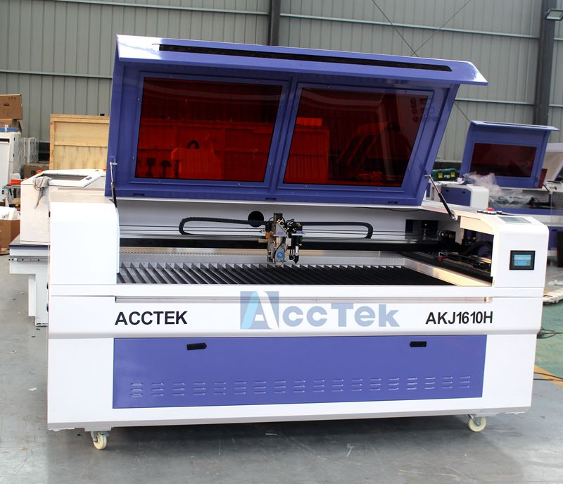 CNC co2 laser cutting machines mixed metal carbon steel pipe and nonmetal 1610 cnc laser cutter