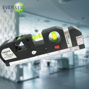 New product 360 degree self leveling cross 635nm wavelength bubble laser level