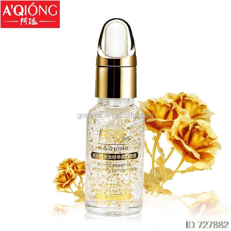 24k Gold Essence Skin Care Foil Hyaluronic Acid Liquid Face Cream Whitening Moisturizing Anti-Aging