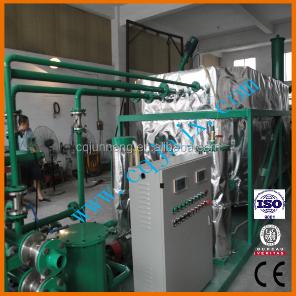 ZSC Black Engine Oil Refine to Base Oil Regeneration Purifier System