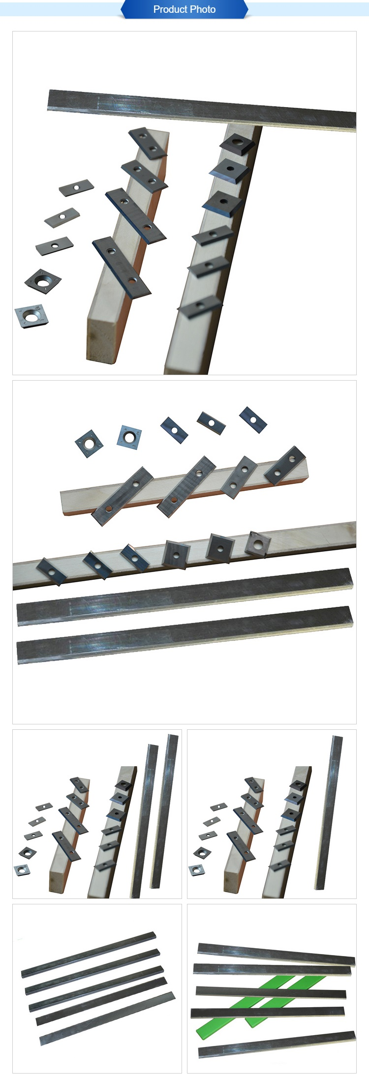 Tungsten Carbide Insert Knives or blades as wood working machinery part