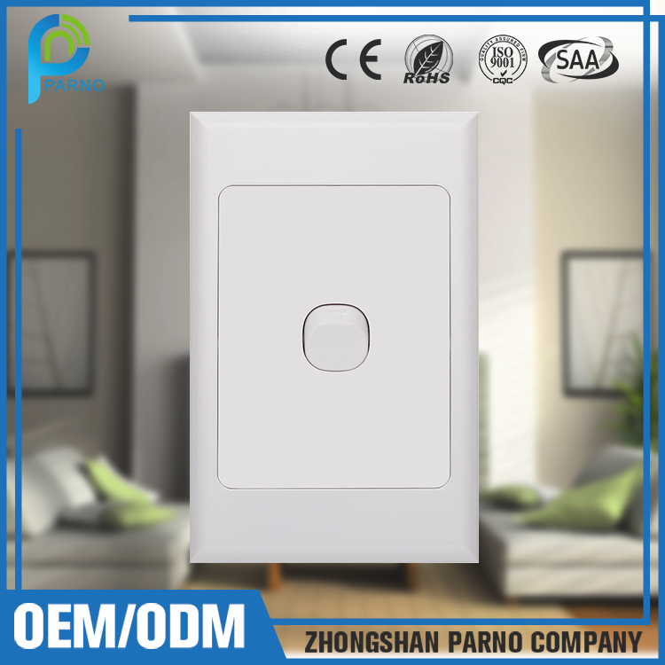 New Design Australian standard electrical SAA wall switch P501