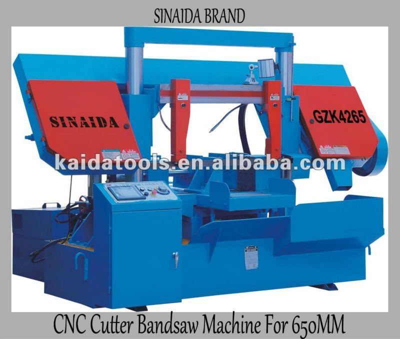 SINAIDA Brand 650mm Fully Automatic Dragon Gate CNC Machine Machine manufacturers The band saw machine