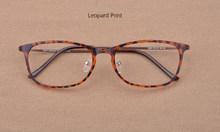 Легкие Ретро квадратные очки по рецепту Корейская сталь вольфрамовые титановые очки оправа анти-уф прозрачные компьютерные очки оправа(Китай)