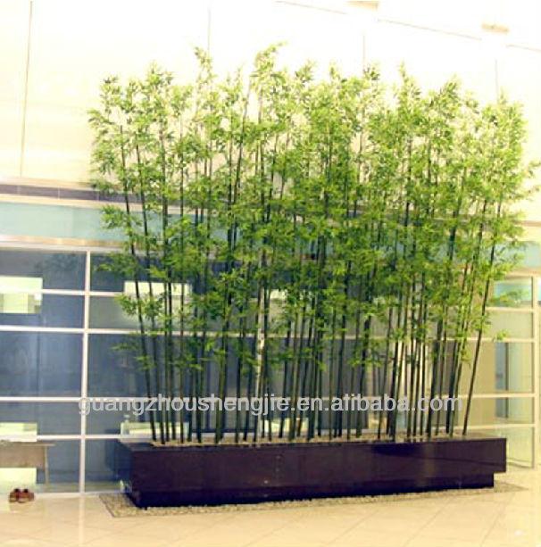 Nearly Natural Dark Stem Artificial Bamboo Stem Lucky