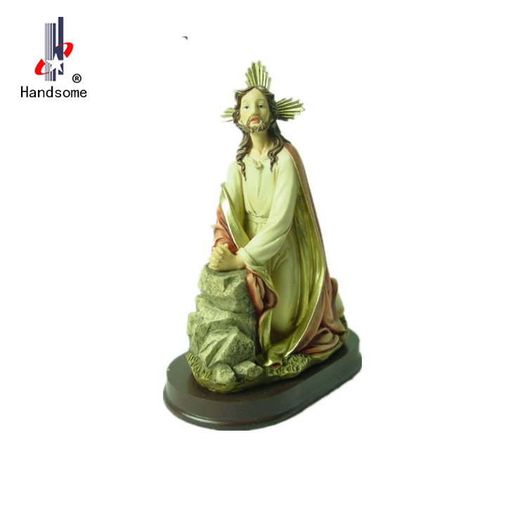 Resin Catholic Religious Statues Wholesale resin Saint Francis statue