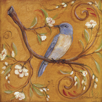 Wholesale Home Decor Drop Shipping Bird Designs Fabric Painting