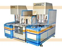 Semi Automatic Plastic PET Stretch Blow Moulding Machine for Hot Fill Bottles