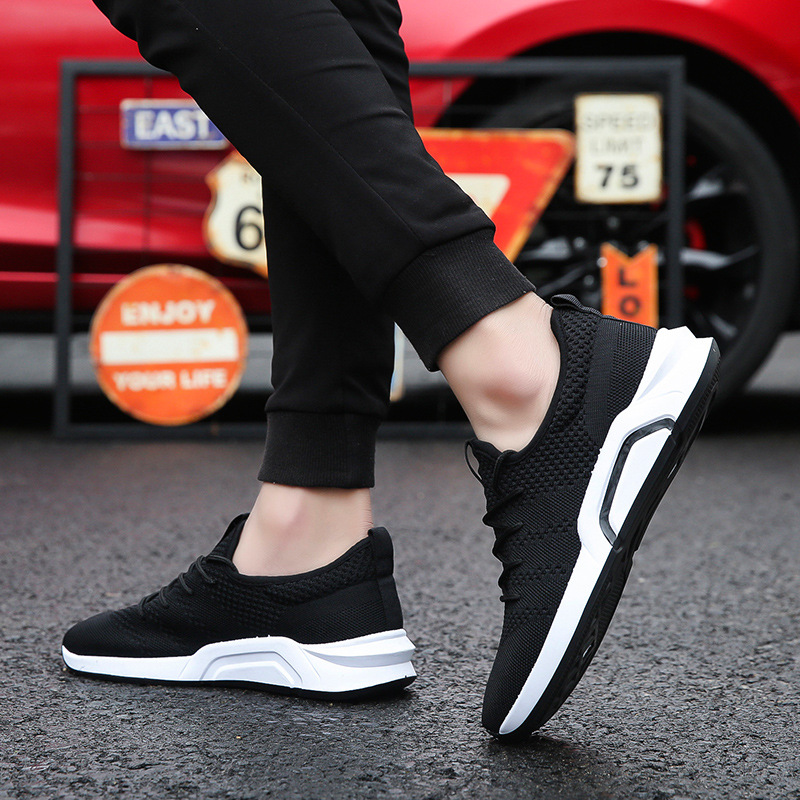 Lightweigt plain sneakers breathable shoes mesh mens fashion color sports 66xqHwfRA