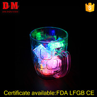 300ml FDA adult pub flashing led plastic cup