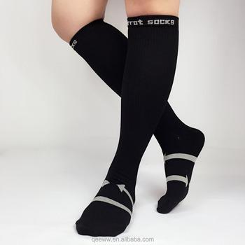 a4e7a847456 Genou haute chaussette de compression plantaire fascittis Antifatigue Bas  Fatigué Achy Jambes   Pieds Anti-