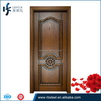 Painting Custom Wooden entry Door For Interior Furniture