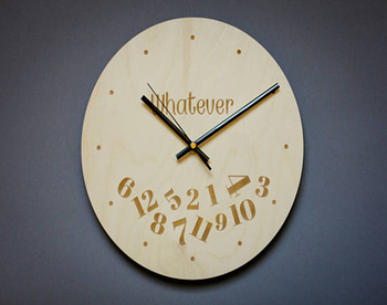 36 Pallet Wood Clock Rustic Home