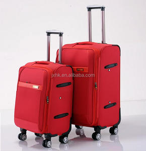waterproof oxford airport boarding luggage 3 pieces travel trolley soft suitcase set