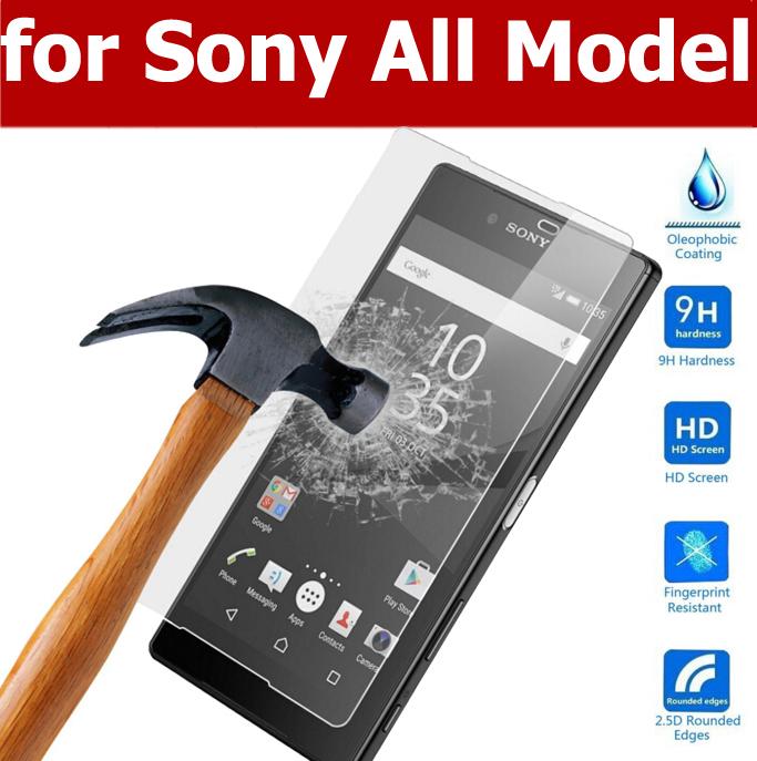 0 33mm 9H Tempered Glass Film sFor Sony Xperia Z5 Z4 Z3 Z2 Compact Mini E4