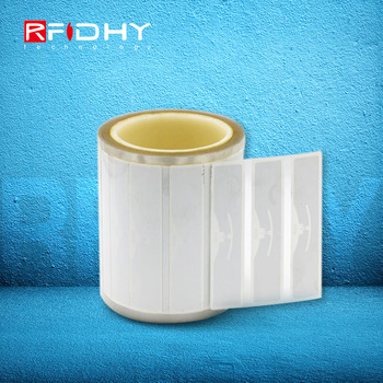 Free Samples Custom Printing White RFID UHF Sticker with Alien 9654 Chip