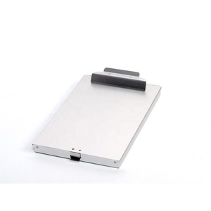 Hot selling Heavy duty lightweight strong Aluminum storage clipboard for office