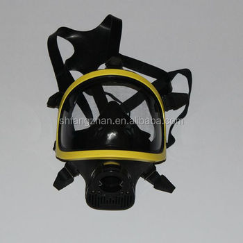 maschera gas virus