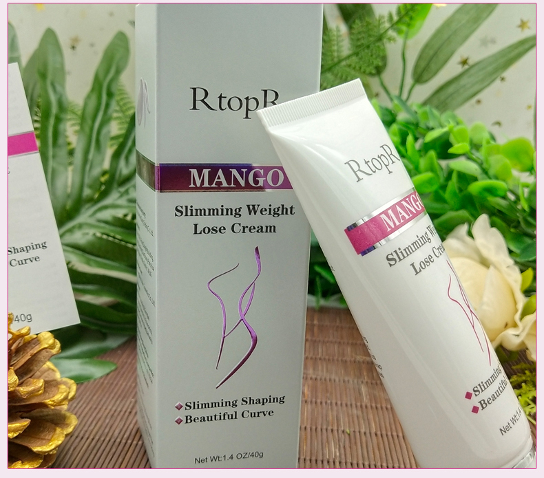 2018 New design promotion custom rtopr mango slimming cream