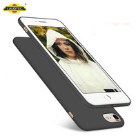 New Products Liquid Silicone Gel TPU Phone Cover for iPhone 7/8 Back Case
