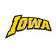 Letters Iowa iron on t shirt heat transfer paper wholesale
