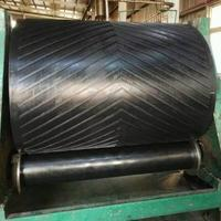 Sanliu anti abrasive rubber three v chevron conveyor belt