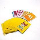 High Quality Customized Cartoon Pattern Printed Card Game cards Paper Memory Playing Cards