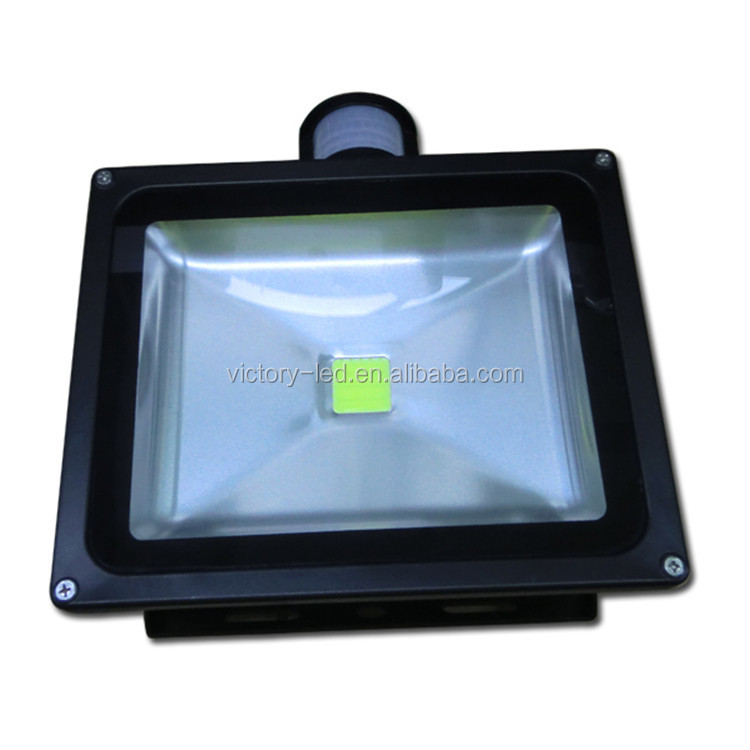 30W Garden Outdoor IP65 PIR Motion Sensor LED White Flood Light Security Lamp