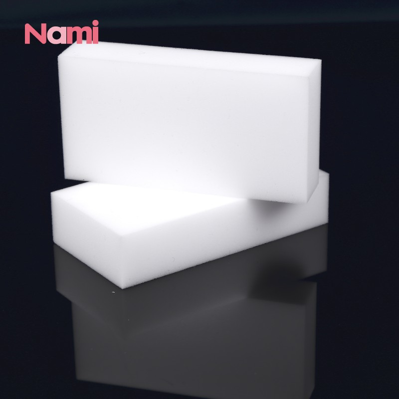 Factory Price Popular Design Cheap White Kitchen Cleaning Magic Eraser Melamine Foam Novelty Nano Sponge