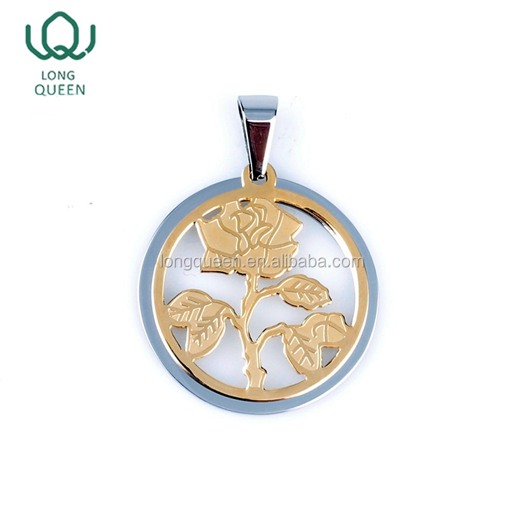 Classic trendy design custom flower of life pendant jewelry china